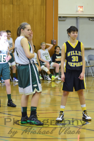 2012 CA Jacobs 8th Grade Girls vs Jepson