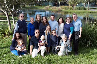 Ann & Pat Kenny, Family Shoot