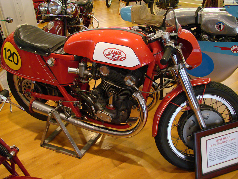 1960 Jawa 500cc race bike