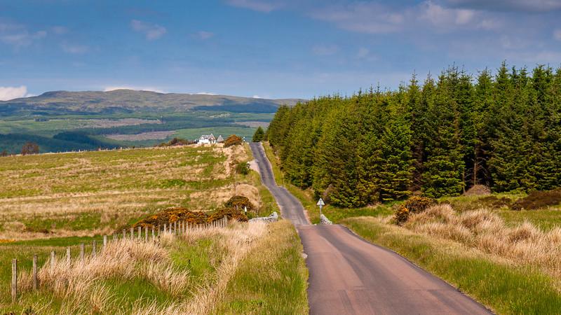 Kintyre country lane