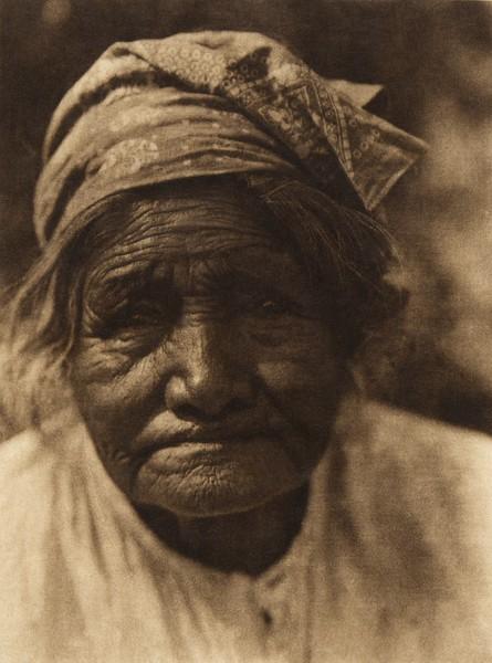 A Cupeño Female Type  (The North American Indian, v. XV. Norwood, MA, The Plimpton Press, 1926)