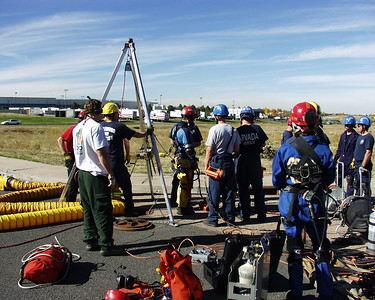 SMFR Tech Rescue Training