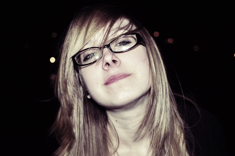 one of my favorite photos of rachel. ever.