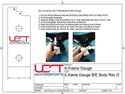 K-frame Gauge