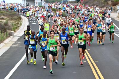 America's Finest City Half Marathon and AFC 5K 2011