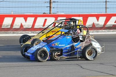 Midget USAC at Lucas Raceway Park