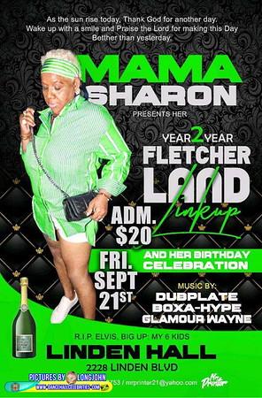 "MAMA SHARON ""BIRTHDAY / FLETCHER'S LAND LINK UP 2018""(20)"