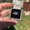 2.50ctw Emerald Cut Diamond 3-stone Ring, GIA E VS1 18