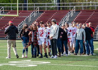 '21 Chardon Boys Lacrosse Senior Night