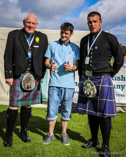 Scottish Backhold Wrestling Prize Winner - David Blair