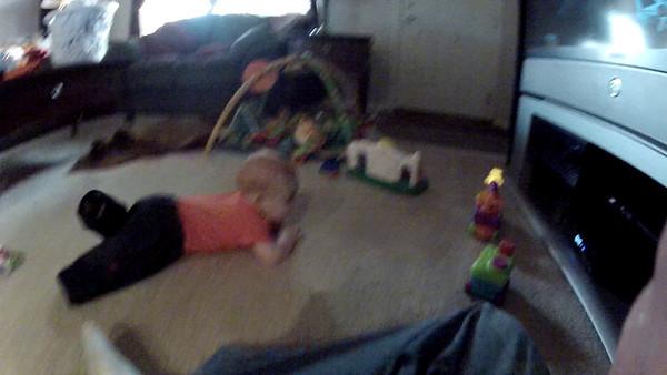 Liam Crawling