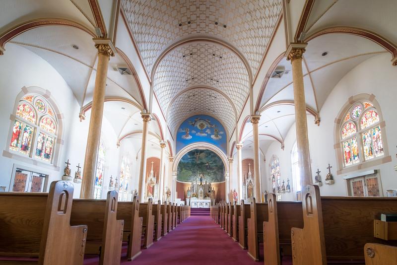HISTORIC TEXAS PAINTED CHURCH