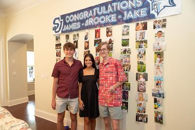 Jake, Brooke, and James' Graduation Party