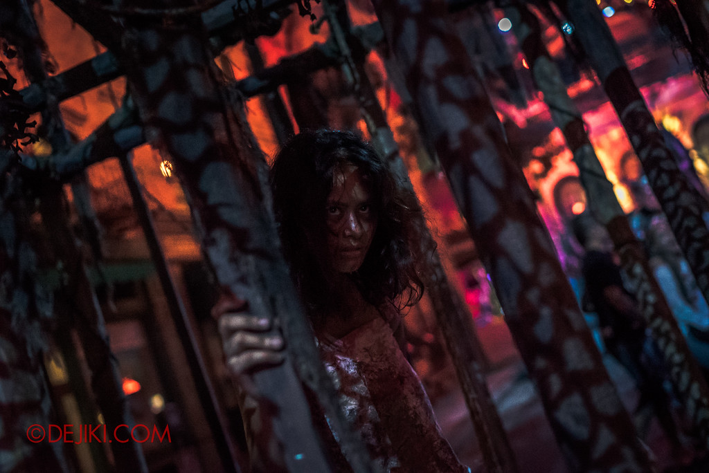 Halloween Horror Nights 7 - Pilgrimage of Sin / Cruelty jail girl