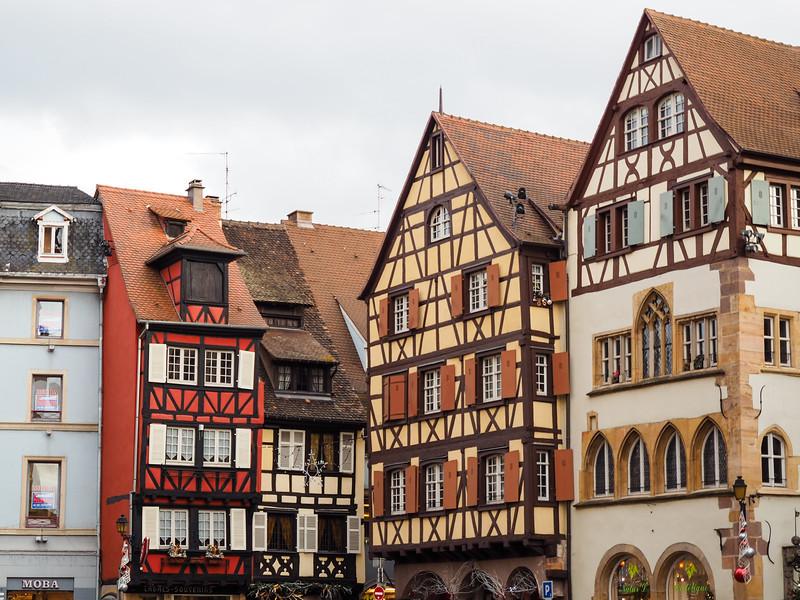 Houses in Colmar, France