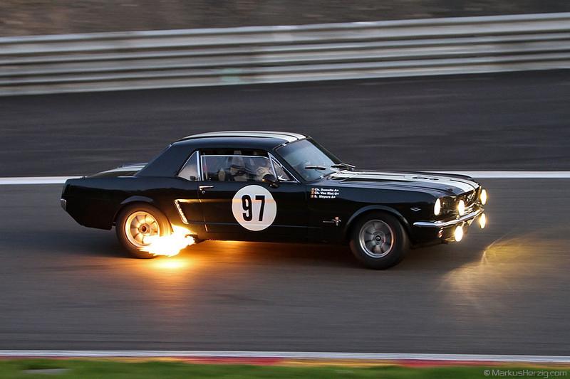 Ford Mustang Mk1 - Dumolin/Van Riet/Meyers BEL @ Spa Six Hours Belgium 24Sep11