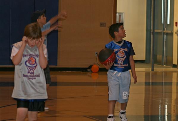 Gabriel Basketball Firehawks 2008