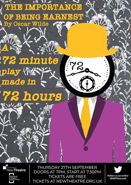 The Importance of Being Earnest: A 72 Minute Play made in 72 hrs poster