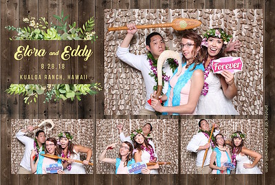 Eddy & Elora's Wedding (Mini Open Air Photo Booth 2)