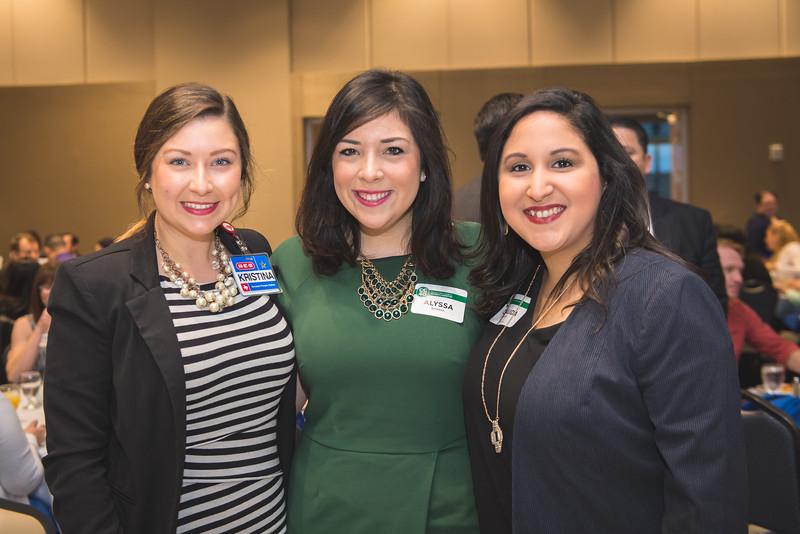 Kristina Leal(left) Alyssa Barrera and Claudia Huerta.