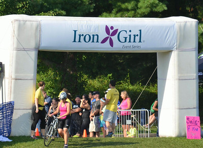 Some of the Striders at Iron Girl
