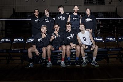 2017 HIU Men's Volleyball