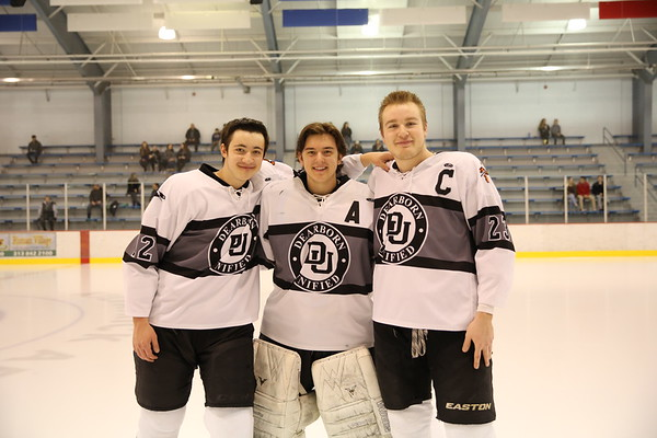 DU hockey Senior Night