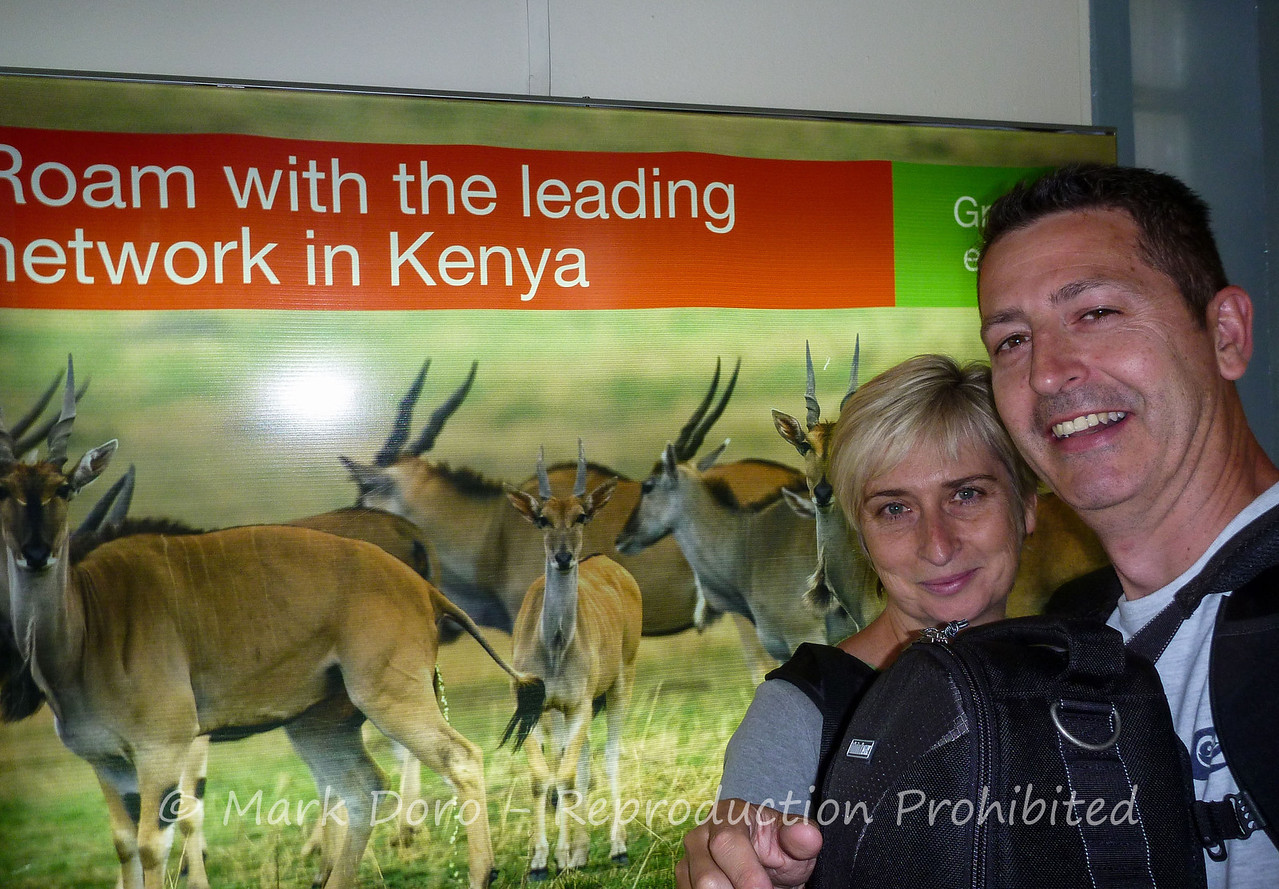 Nairobi airport, over 24 hours of travel, 10 hours to go....
