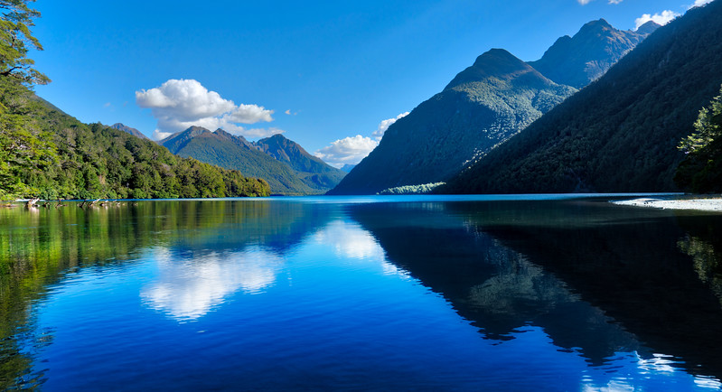 A Few Weeks Ago On The Way To Milford Sound At Lake Manapouri.