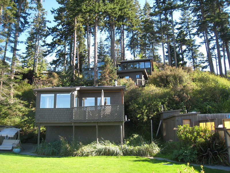 Our rental house for the last 3 days of our tripWhidbey Island Beachfront House