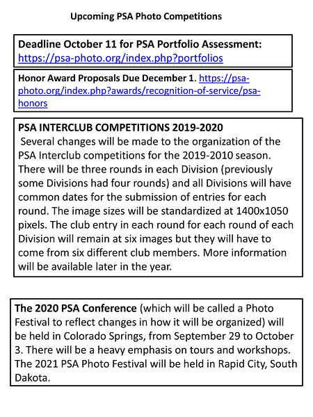 October 2017 PSA Washington State Member Newsletter