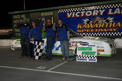 OSCAAR and Late Model 100, Kawartha Speedway, Fraserville, ON, September 19, 2008