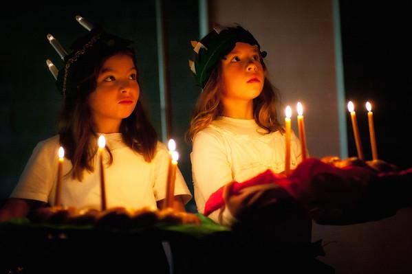 2nd Grade Celebration of Saint Lucia