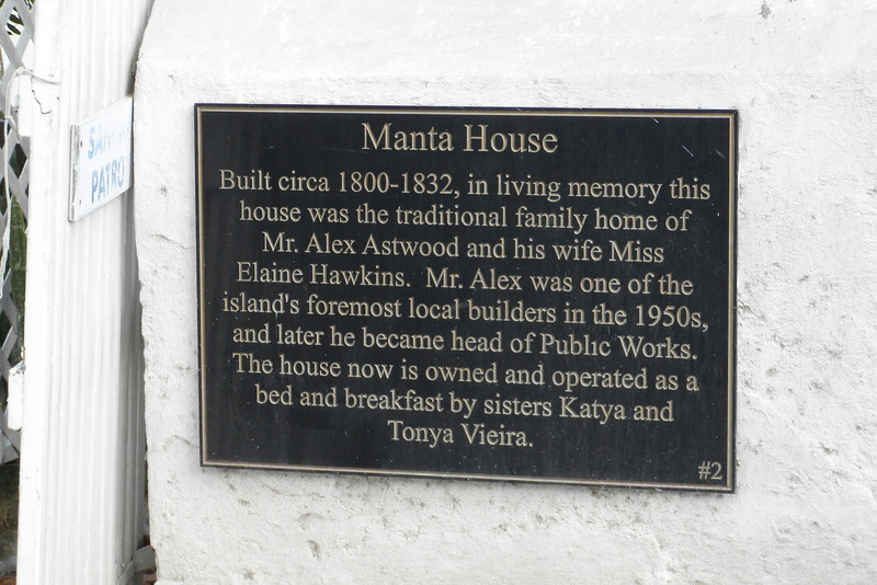 Historical home along Front Street, Grand Turk