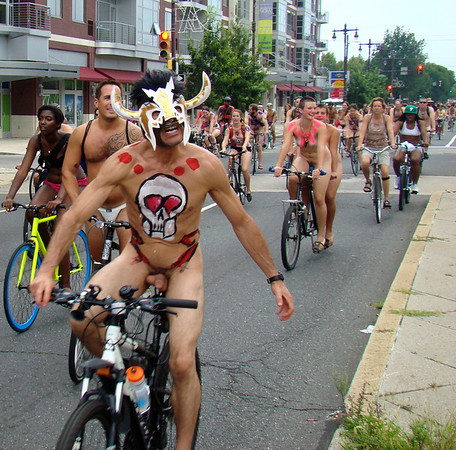 Philly Naked Bike Ride 2012 Part 1 of 3
