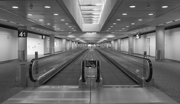 Travelator in Hong Kong airport taken in July 2010