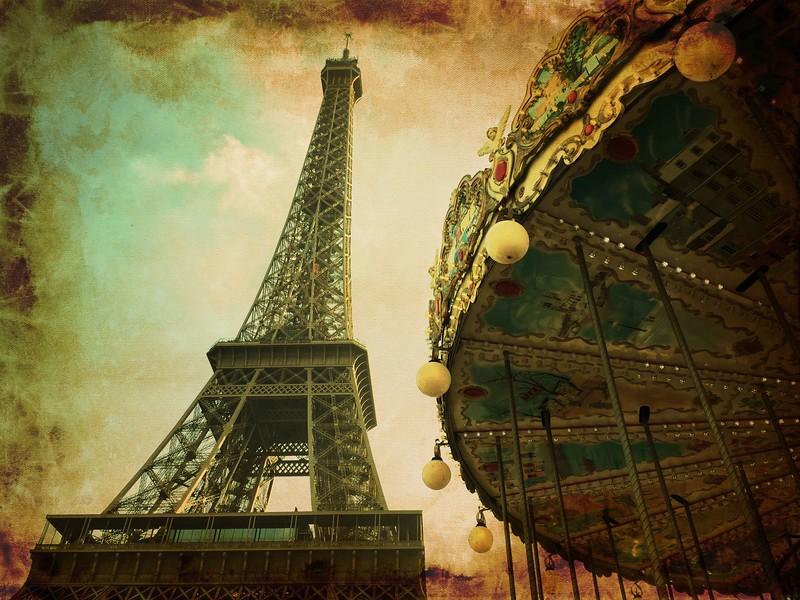 Carrousel de la Tour Eiffel, Paris
