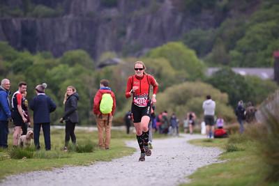 Sportpursuit Slateman Triathlon - Legend Run Last Corner