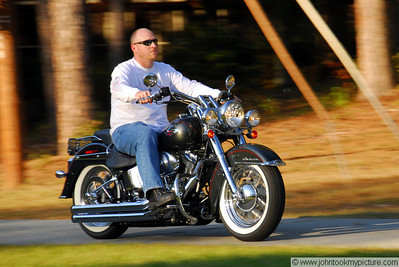 Natalie Smart's Harley