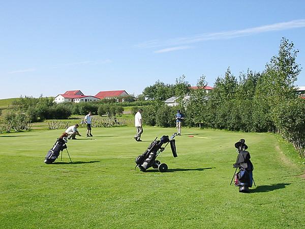 Fludir golfcourse