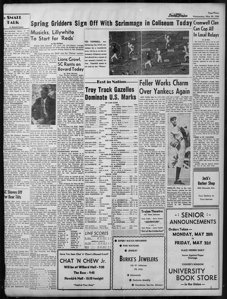 Daily Trojan, Vol. 37, No. 133, May 22, 1946
