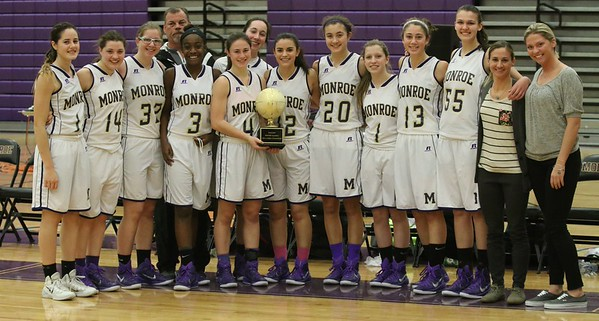 Girls win 1st Annual MTHS Holiday Tournament in finals vs Allentown HS, Dec. 29, 2014