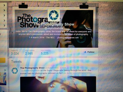 The Photography Show 2014 Blog