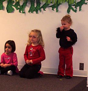Rachel's First Dance Program