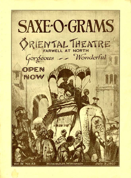 Original flyer for opening night.