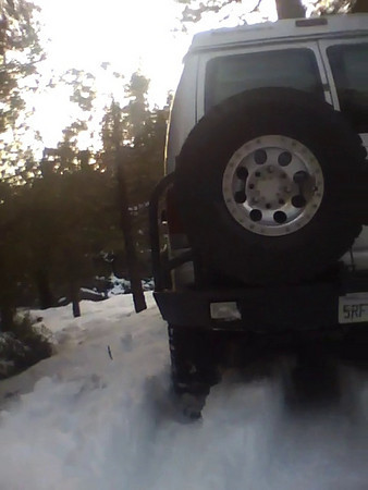 2011-01-16 Snow Camping Video