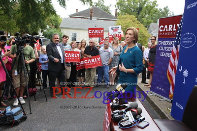Carly Fiorina Files for SC Primary 9-23-15