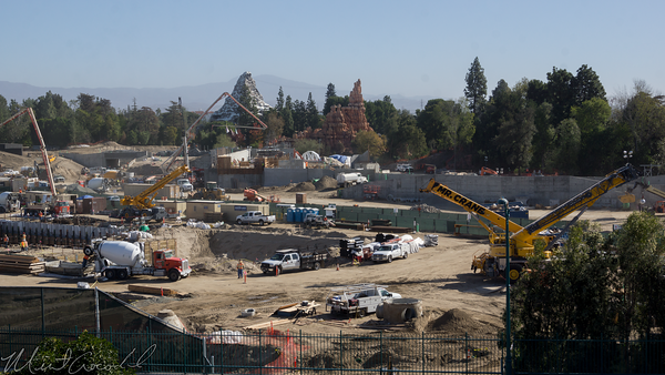 Disneyland Resort, Disneyland, Frontierland, Critter Country, Rivers Of America, Rivers, River, Star Wars Land, Star Wars, Mickey, Friends, Parking, Structure