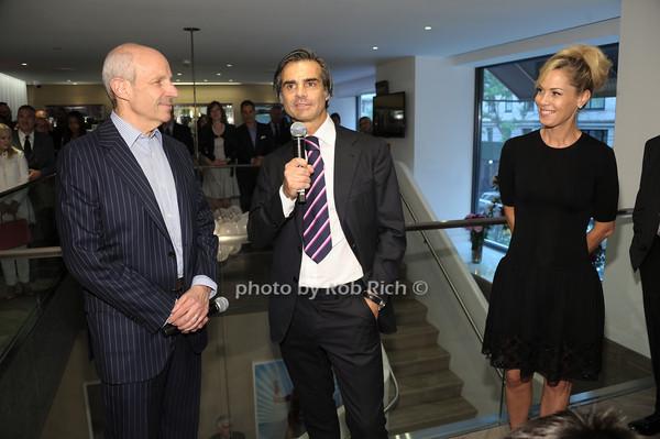 Jonathan Tisch, Julien Farel, Suelyn Farel photo by Rob Rich/SocietyAllure.com © 2014 robwayne1@aol.com 516-676-3939