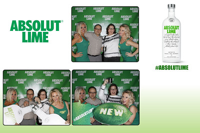 Absolut Lime (photo strips)